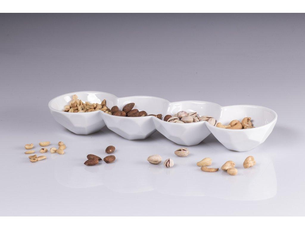 porcelánová miska, čtyřmiska, miska porcelán, miska z porcelánu, porcelánové misky, adventní miska, advent, miska na dobroty, miska na oříšky, svatební miska, velikonoční miska, dekorační miska, doplňky do interiéru, dekorace do bytu, bytové doplňky, designové doplňky, bytové doplňky eshop, moderní doplňky do bytu, luxusní bytové doplňky, dekorace do obýváku, český porcelán, porcelán, luckavo, Lucie Tomis