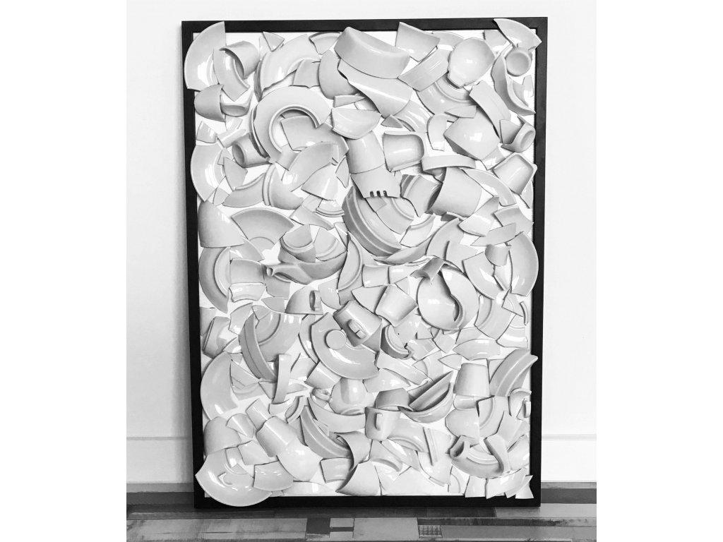 Obraz Střepy štěstí 70x50cm