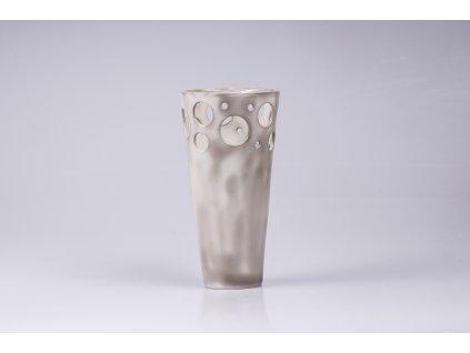 porcelánová váza - béžová  pouze 1 originál