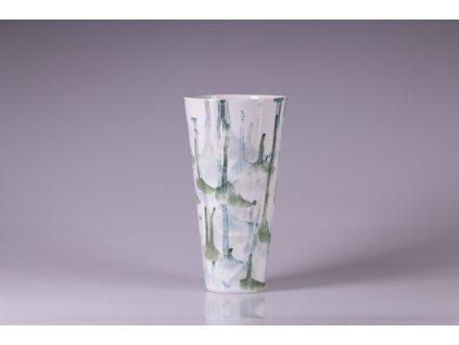 váza, váza na květiny, designová váza, bílá váza, dekorativní váza, vázy dekorace, moderní váza, porcelánová váza, bandaska, doplňky do interiéru, dekorace do bytu, bytové doplňky, designové doplňky, bytové doplňky eshop, moderní doplňky do bytu, luxusní bytové doplňky, dekorace do obýváku, český porcelán, porcelán, luckavo, Lucie Tomis