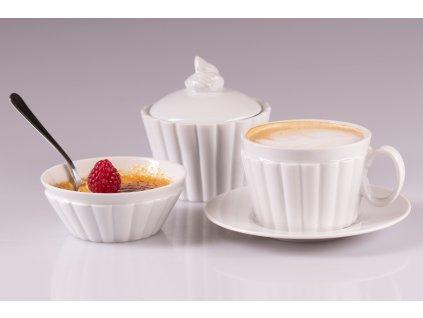 miska na Creme Brulée, Creme Brulée, cupcake, sweetlife,sweetset, cupcake, muffin, porcelánonová miska, dóza, porcelánová miska,doplňky do interiéru, dekorace do bytu, bytové doplňky, designové doplňky, bytové doplňky eshop, moderní doplňky do bytu, luxusní bytové doplňky, dekorace do obýváku, český porcelán, porcelán, luckavo, Lucie Tomis