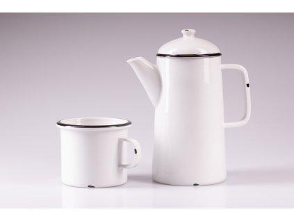originální konvice, retro konvice, retro konev, konvice na čaj, bílá porcelánová konvice, porcelánová konvice na čaj, porcelánová konev, designová konev na čaj, konvice na čaj, konvice, konev,designová konev, konev na čaj, porcelánová konvice, čajová konvice, porcelán, český porcelán, luckavo, Lucie Tomis, retro nádobí, plecháček, smaltovaný design