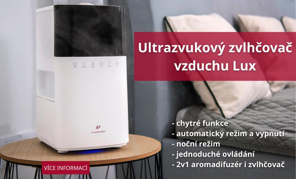 Ultrazvukový zvlhčovač vzduchu Lux