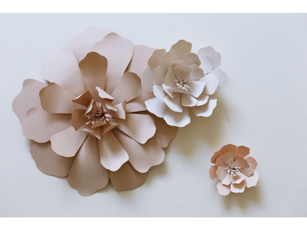 sada květin 3 ks
