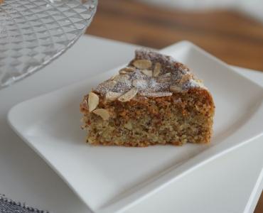 Mandlový koláč bez mouky