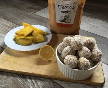 Kokosovo-mangové kuličky