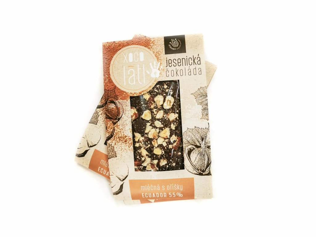 jesenicka cokolada mléčná s oříšky ecuador 55% 1600x1200