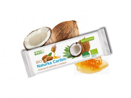 Kokosova tycinka s medem