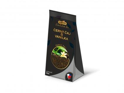 černý čaj vanilka exclusive tea vitto tea