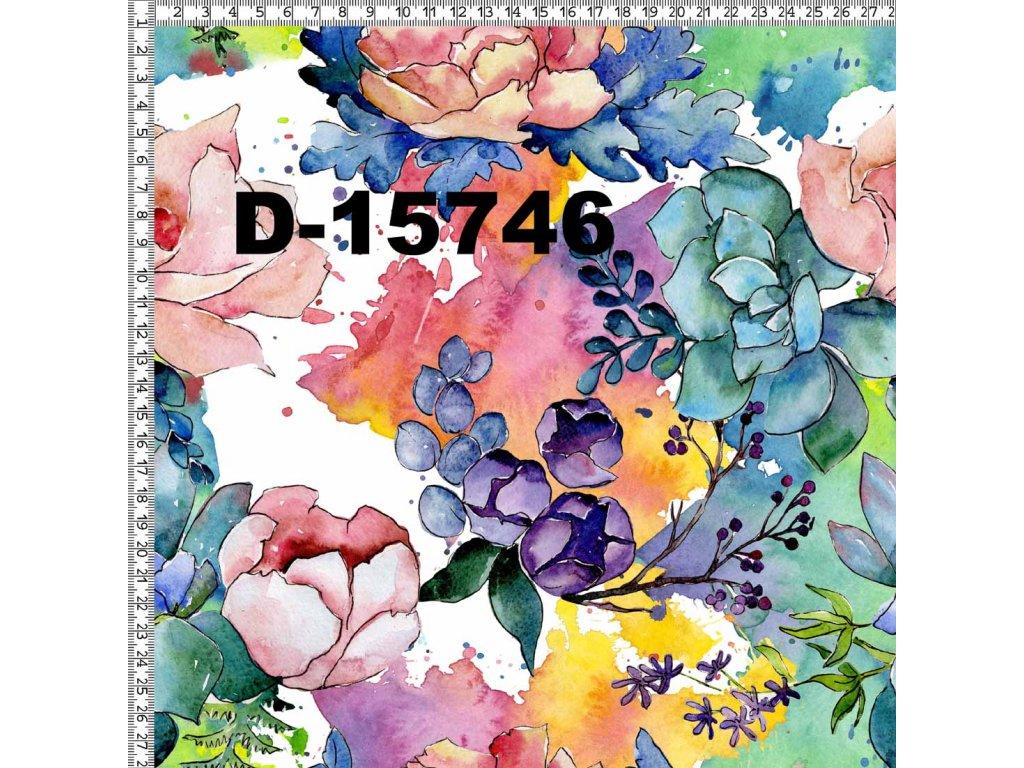 Y108 barevné květy
