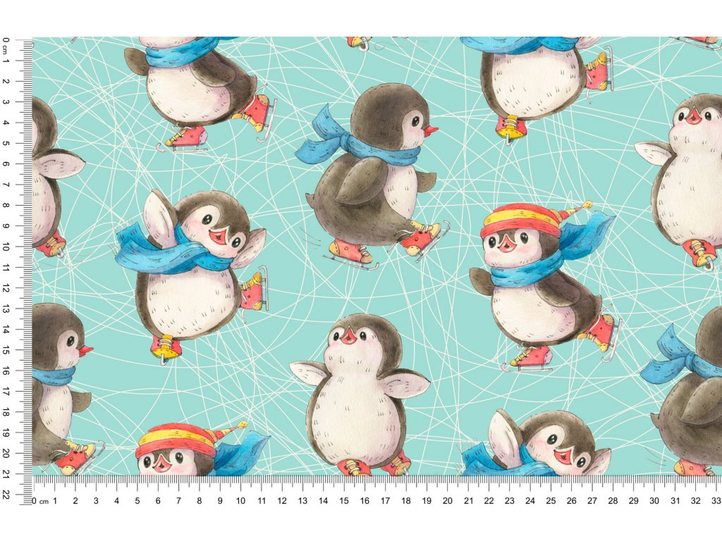 Y455 tučňáci