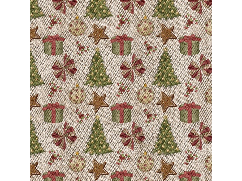 Y603 vánoční stromeček a ozdoby