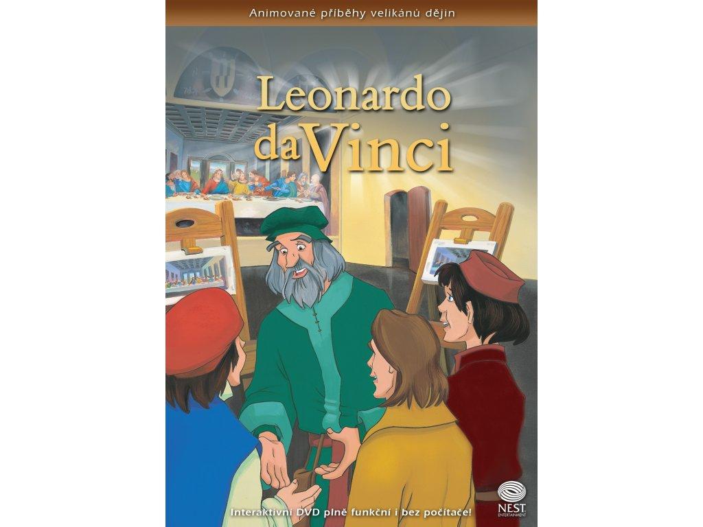 SN APVD05 LeonardoDaVinci obalka DVD cz
