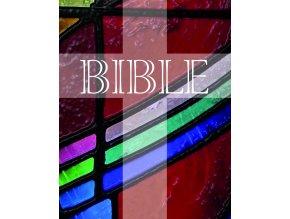 Bible motiv vitraz