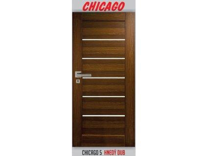 Imperio door chicago 5 dub hnedý