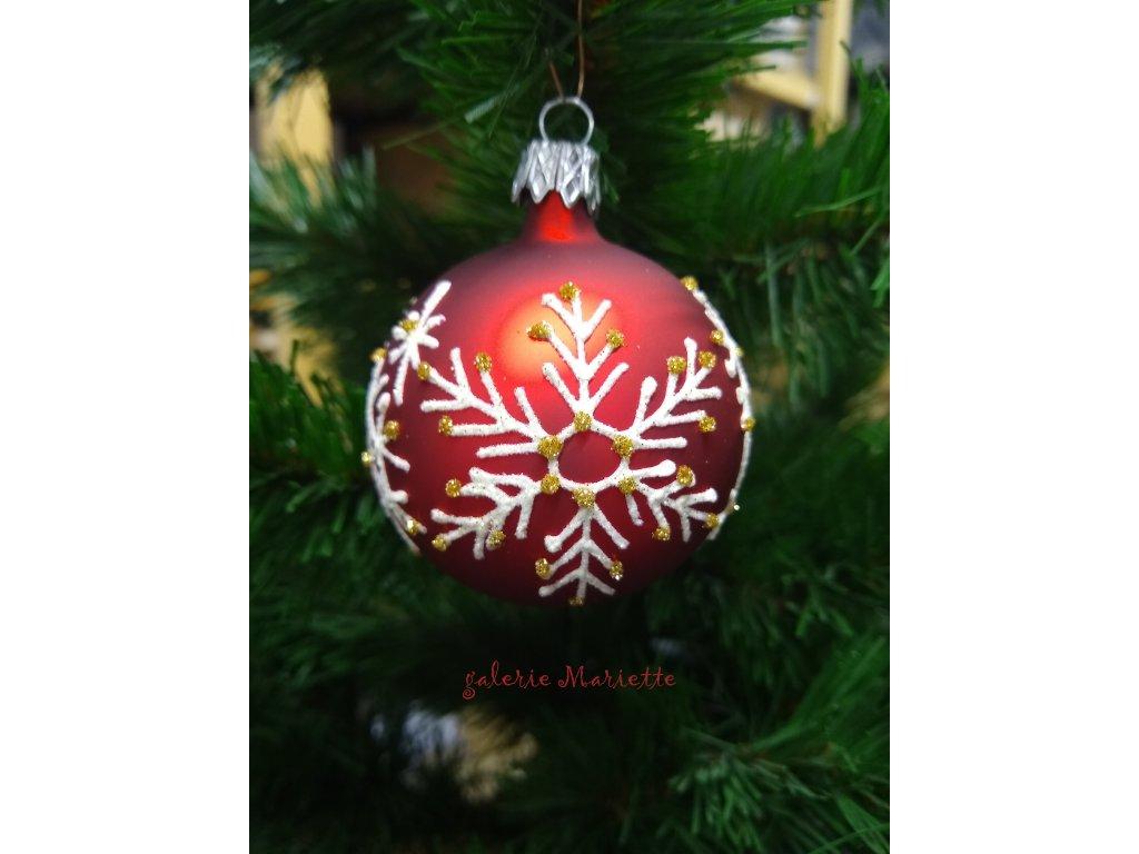 Vánočí vločka (6)