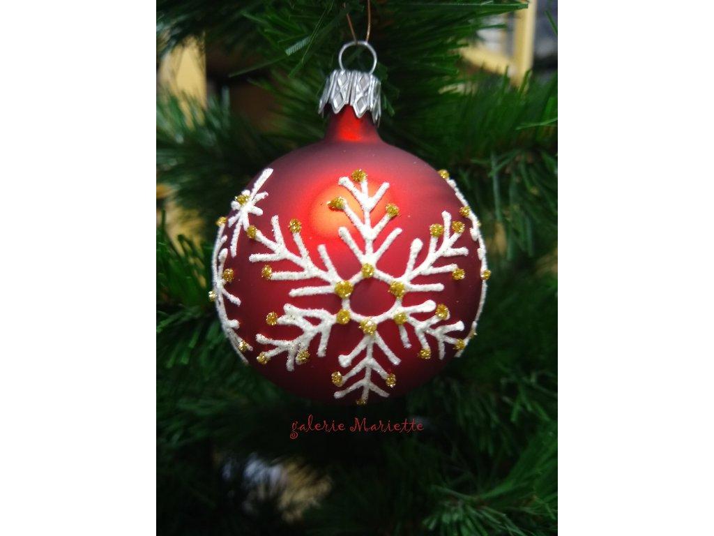 Vánočí vločka (1)