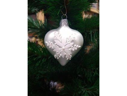 Bílá vánoční růže (2)