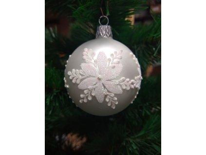 Bílá vánoční růže (5)