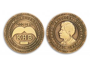 KHB200 Geocoin Antique Bronze