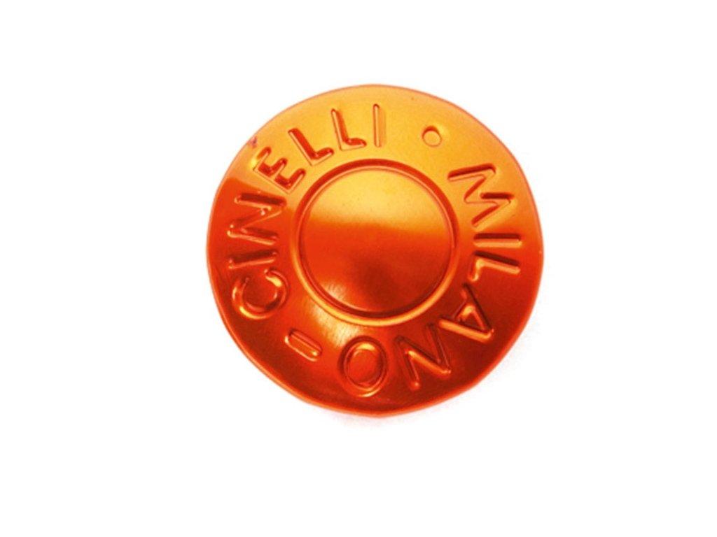 Koncovka do řídítek CINELLI MILANO (pár) oranžová