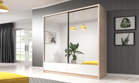 Šatní skříně ARIA s posuvnými dveřmi
