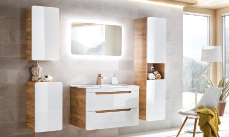 Koupelna ze systému ARUBA white
