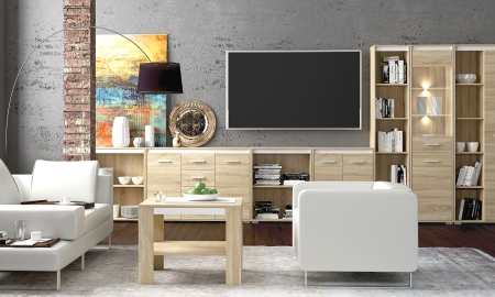 Obývací pokoj ze systému AVO