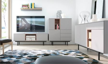 Obývací pokoj ze systému INOX