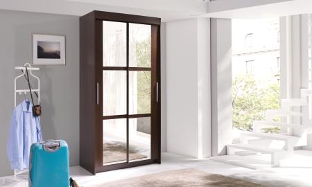 Šatní skříně KARO s posuvnými dveřmi