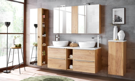 Koupelna ze systému CAPRI oak