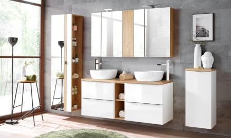 Koupelna ze systému CAPRI white
