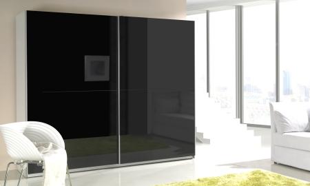 Šatní skříně LUX s posuvnými dveřmi