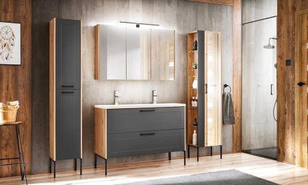 Koupelna ze systému MADERA grey