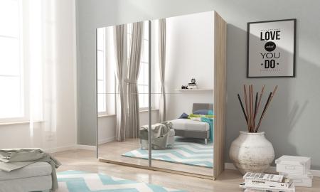 Šatní skříně MIKA s posuvnými dveřmi
