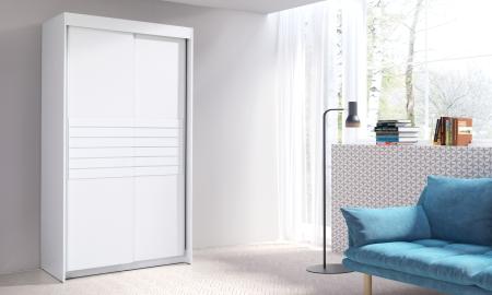 Šatní skříně MORO s posuvnými dveřmi
