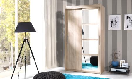 Šatní skříně NERO s posuvnými dveřmi