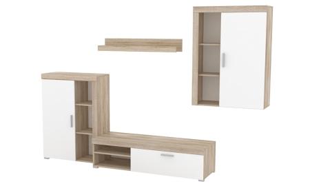 Hotové sestavy obývacích stěn