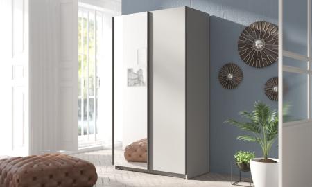 Šatní skříně RICK s posuvnými dveřmi