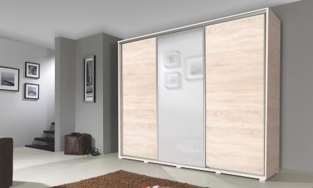 Šatní skříně SILVER s posuvnými dveřmi