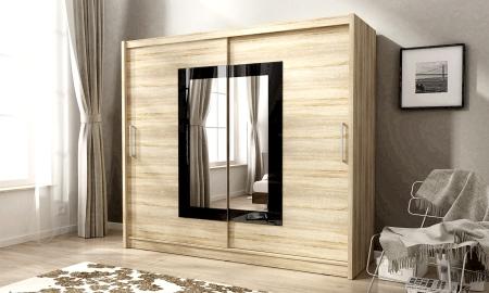Šatní skříně WIKI s posuvnými dveřmi