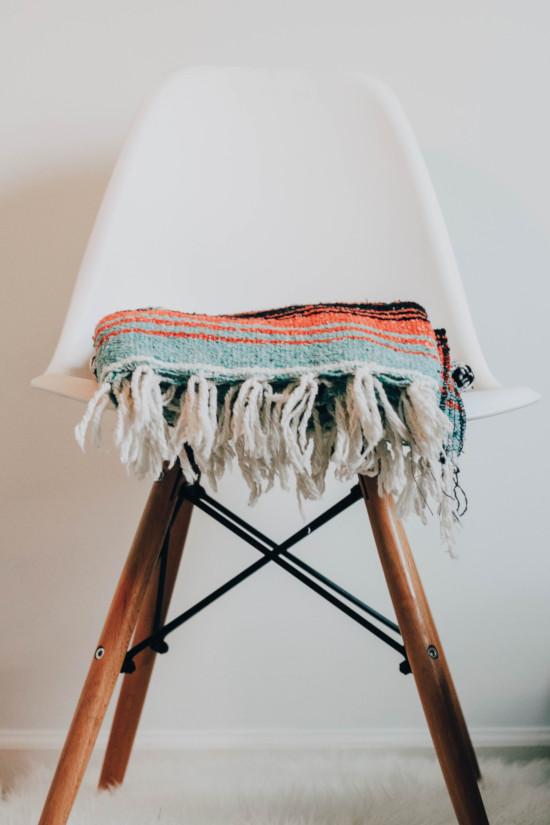Židle ve skandinávském stylu