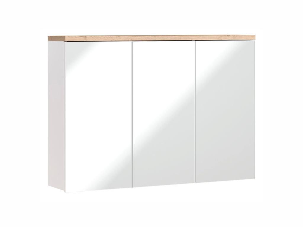 Závěsná skříňka se zrcadlem - BALI 845 white