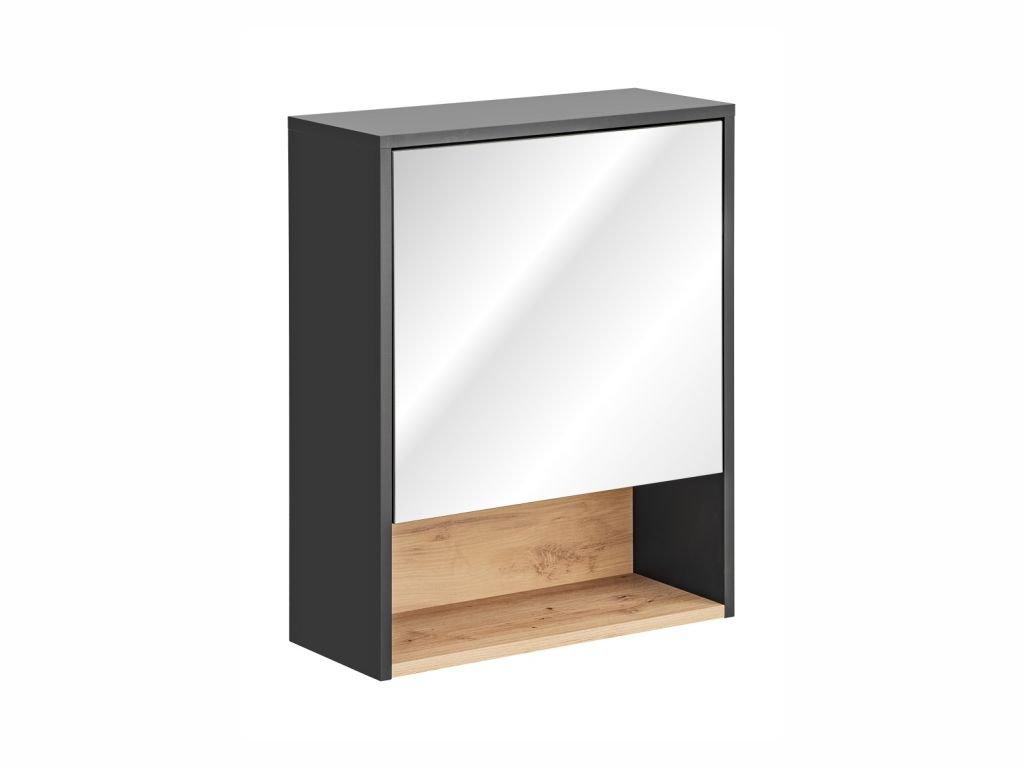 Závěsná skříňka se zrcadlem - BORNEO 840
