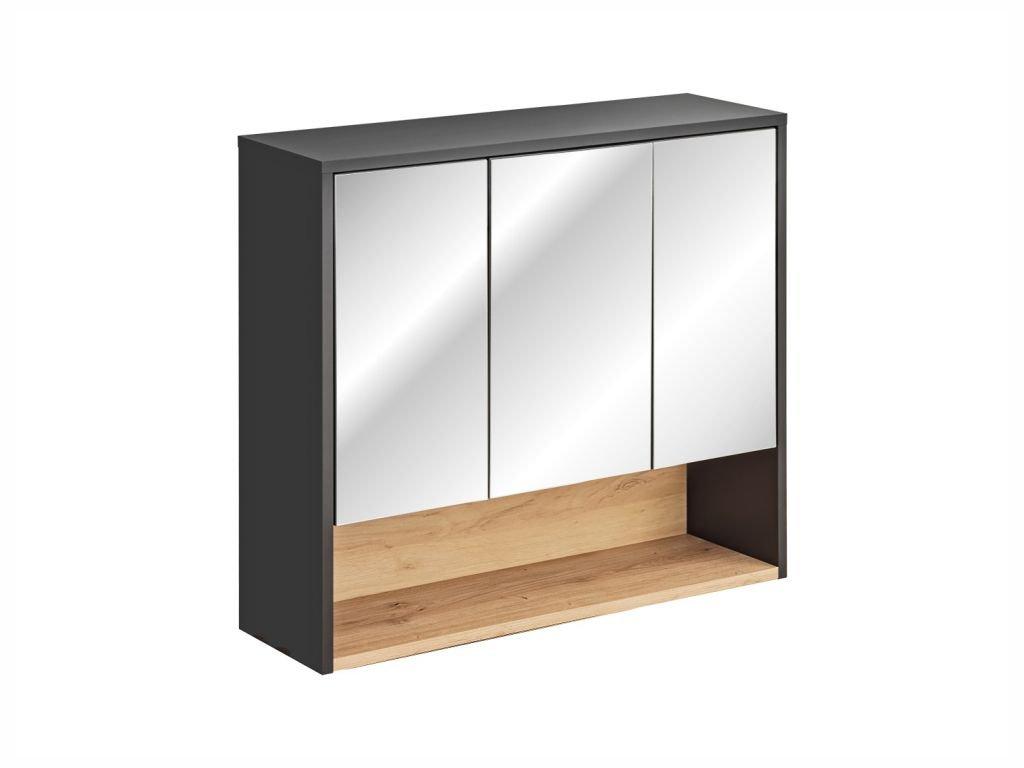 Závěsná skříňka se zrcadlem - BORNEO 841