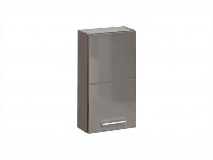 Horní závěsná skříňka - TWIST 830 grey