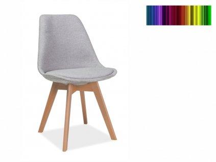 Jídelní židle - DIOR dub