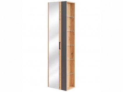 Vysoká závěsná skříňka - MADERA 803 grey