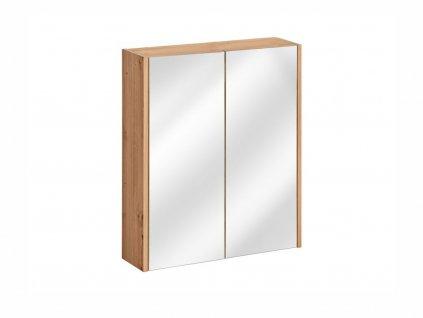 Závěsná skříňka se zrcadlem - MADERA 840