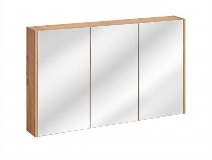 Závěsná skříňka se zrcadlem - MADERA 843